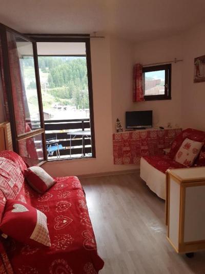 Аренда на лыжном курорте Квартира студия для 3 чел. (513) - La Résidence le Boussolenc - Les Orres - Салон