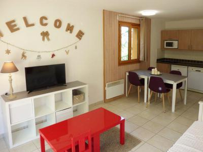 Rent in ski resort 2 room apartment 4 people (500) - Résidence Balcon des Airelles - Les Orres - Coffee table