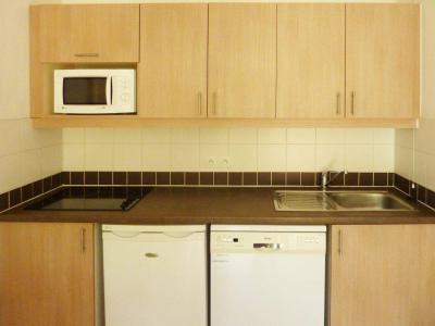 Rent in ski resort 2 room apartment 4 people (500) - Résidence Balcon des Airelles - Les Orres - Kitchenette