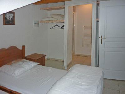 Rent in ski resort 3 room duplex apartment 8 people (494) - Résidence Balcon des Airelles - Les Orres - Double bed