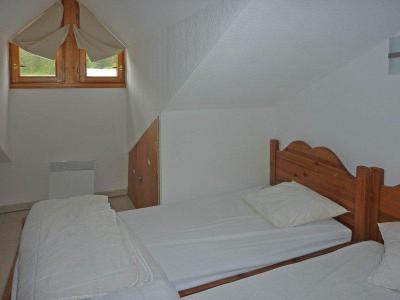 Rent in ski resort 3 room duplex apartment 8 people (494) - Résidence Balcon des Airelles - Les Orres - Single bed