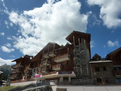 Rent in ski resort 2 room apartment 4 people (500) - Résidence Balcon des Airelles - Les Orres