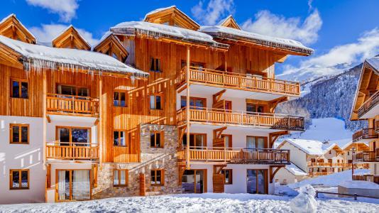 Rental Résidence L'Ecrin des Orres winter