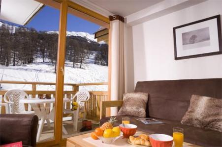 Location au ski Residence Le Balcon Des Airelles - Les Orres - Coin séjour