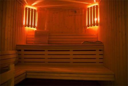 Location au ski Residence Le Balcon Des Airelles - Les Orres - Sauna