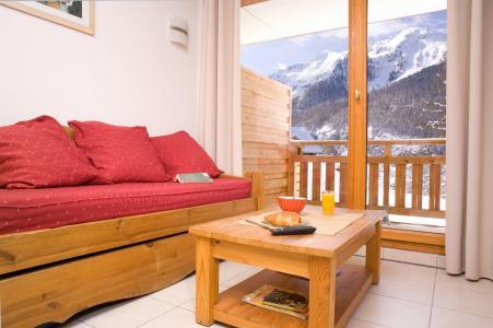 Location au ski Résidence le Balcon des Airelles - Les Orres - Séjour