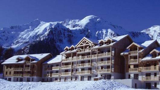 Location au ski Residence Le Bois Mean - Les Orres - Extérieur hiver