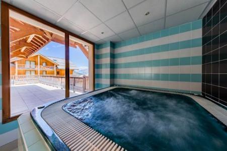 Location au ski Residence Le Bois Mean - Les Orres - Jacuzzi