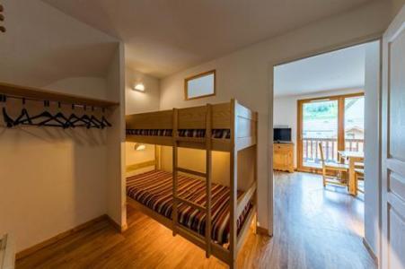 Location au ski Residence Le Bois Mean - Les Orres - Lits superposés