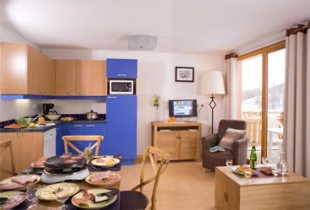 Location au ski Appartement 2 pièces coin montagne 10 personnes (BCW) - Residence Le Parc Des Airelles - Les Orres - Séjour