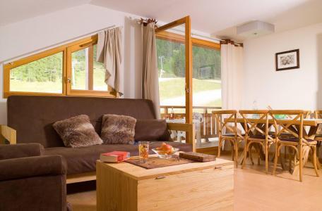 Location au ski Résidence le Parc des Airelles - Les Orres - Coin séjour