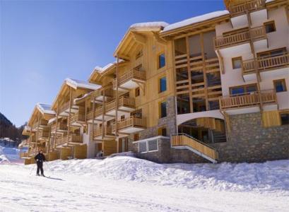 Location au ski Residence Le Parc Des Airelles - Les Orres - Extérieur hiver