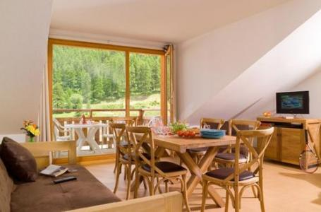 Location au ski Residence Le Parc Des Airelles - Les Orres - Coin repas