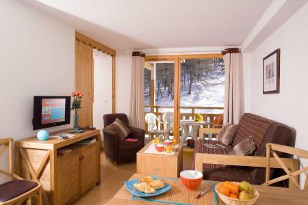 Location au ski Residence Le Parc Des Airelles - Les Orres - Coin séjour
