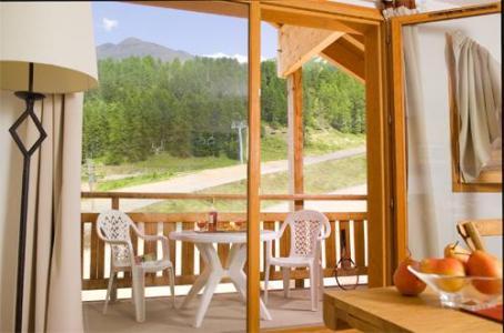 Location au ski Residence Le Parc Des Airelles - Les Orres - Balcon