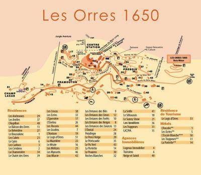Wynajem na narty Résidence le Silhourais - Les Orres