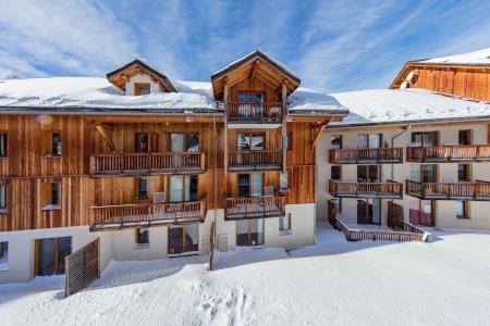 Location Les Orres : Résidence les Balcons de Bois Méan hiver