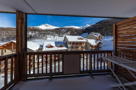 Rent in ski resort Résidence les Balcons de Bois Méan - Les Orres - Balcony
