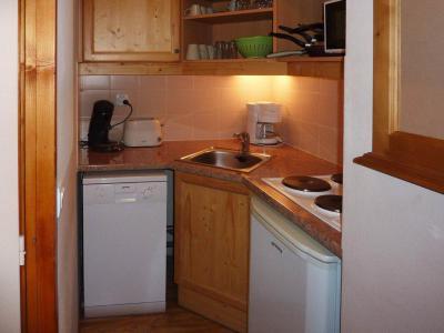 Rent in ski resort 2 room apartment 6 people (812) - Résidence les Eglantines - Les Orres - Kitchenette