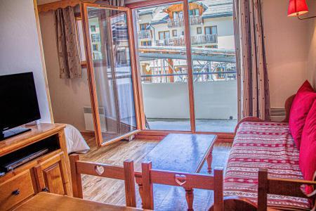 Rent in ski resort 2 room apartment 6 people (812) - Résidence les Eglantines - Les Orres - Living room