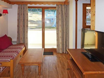 Rent in ski resort 2 room apartment sleeping corner 6 people (814) - Résidence les Eglantines - Les Orres - Living room
