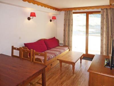 Rent in ski resort 2 room apartment sleeping corner 6 people (814) - Résidence les Eglantines - Les Orres - Sofa-bed
