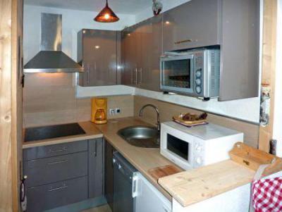 Wynajem na narty Apartament 2 pokojowy z alkową 6 osób (110) - Résidence les Gradins - Les Orres