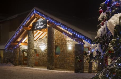 Rent in ski resort Résidence les Hauts de Préclaux - Les Orres - Winter outside