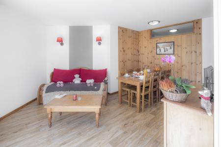 Rent in ski resort Résidence les Hauts de Préclaux - Les Orres - Dining area
