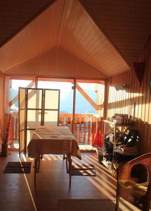 Location au ski Residence Sunelia Les Logis D'orres - Les Orres - Massage