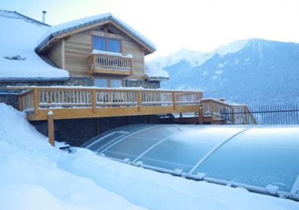 Location au ski Residence Sunelia Les Logis D'orres - Les Orres - Piscine