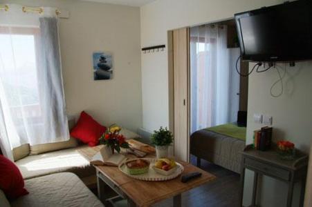 Location au ski Studio 3 personnes - Residence Sunelia Les Logis D'orres - Les Orres - Séjour
