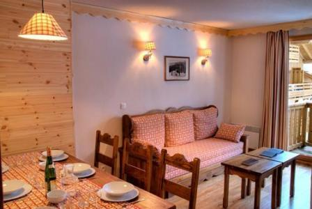 Rent in ski resort Residences La Foret D'or - Les Orres - Living room
