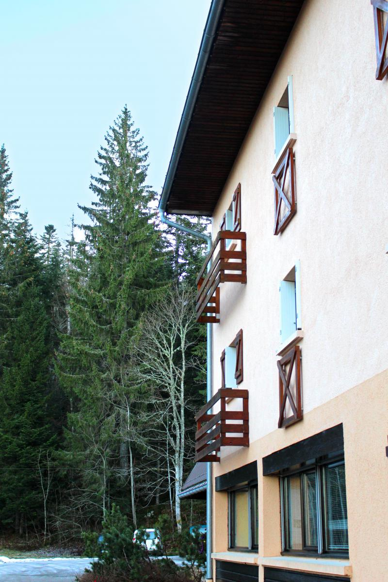 Location au ski VVF Villages Jura les Rousses - Les Rousses - Extérieur hiver