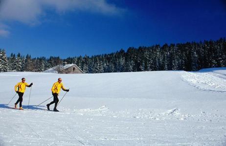Location au ski Résidence les Clarines - Les Rousses - Extérieur hiver