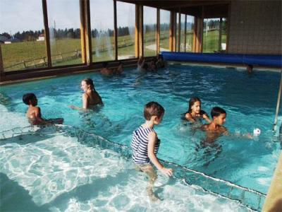 Location au ski Residence Les Clarines - Les Rousses - Piscine