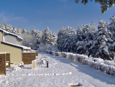 Location au ski VVF Villages le Fjord Jurassien - Les Rousses - Extérieur hiver