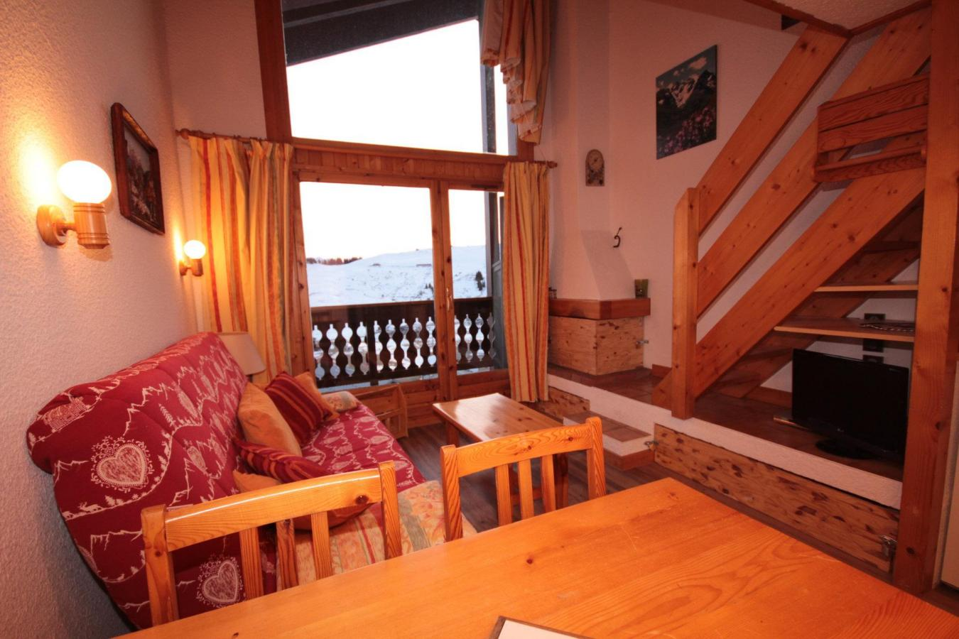 Les Saisies - RESIDENCE GRAND MONT 4 - Appartement 2 pièces mezzanine 6 personnes (4421)
