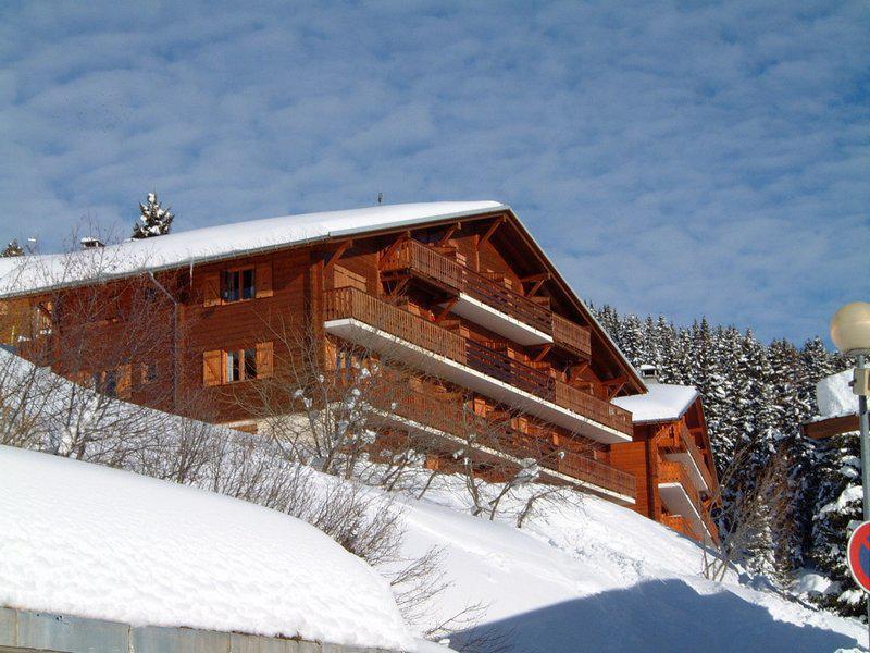 Skiverleih Chalet Beausite - Les Saisies - Draußen im Winter