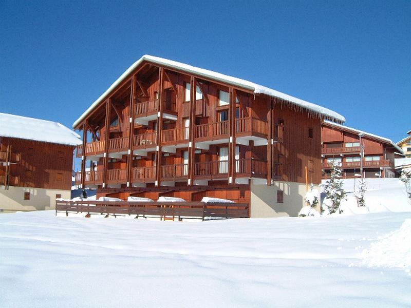 Каникулы в горах Chalet Cristal 1 - Les Saisies - зимой под открытым небом