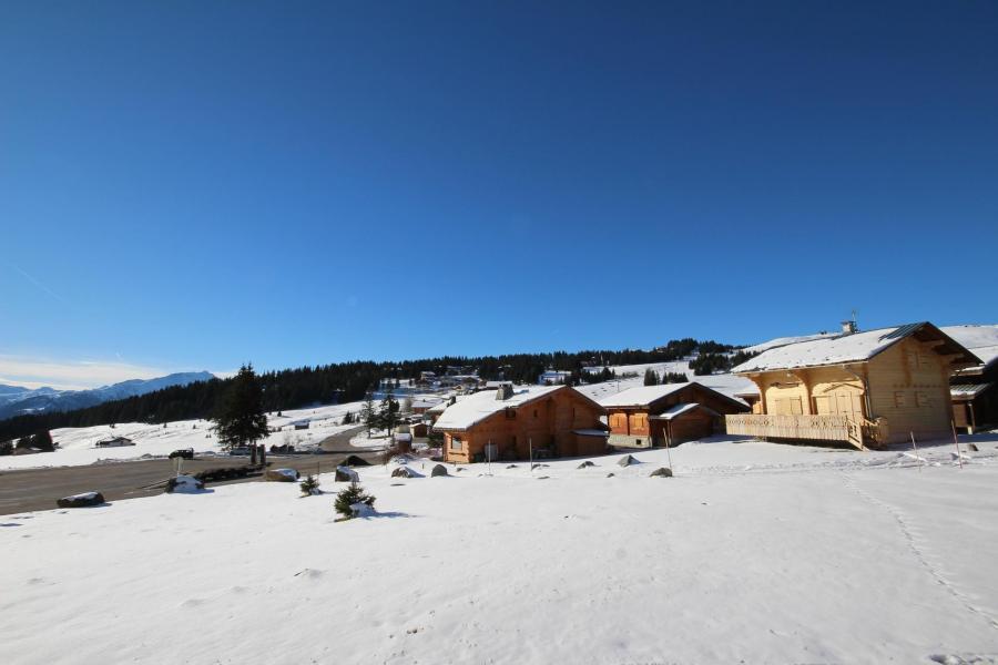 Vacanze in montagna Studio con alcova per 5 persone (301) - Chalet du Lac 3 - Les Saisies - Esteriore inverno