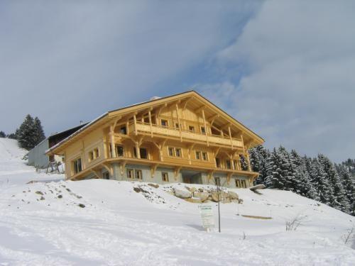 Vacaciones en montaña Chalet Histoire - Les Saisies - Invierno