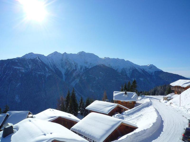 Location au ski Chalet 5 pièces 10 personnes - Chalet l'Eglantine - Les Saisies - Extérieur hiver
