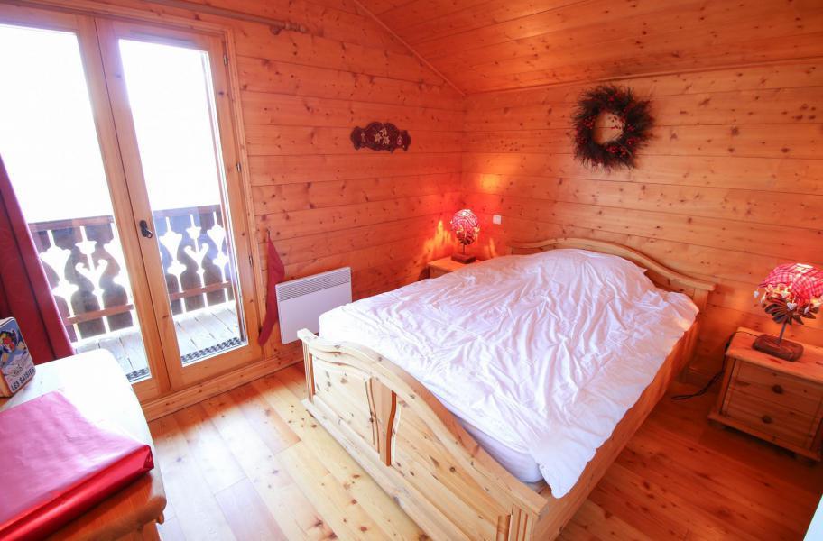 Location au ski Chalet 5 pièces 10 personnes - Chalet l'Eglantine - Les Saisies - Chambre