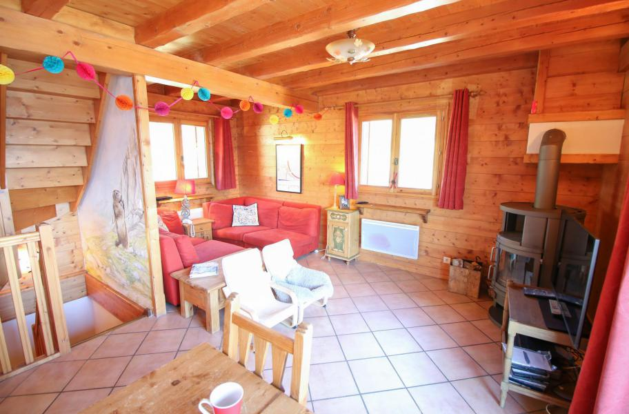 Location au ski Chalet 5 pièces 10 personnes - Chalet l'Eglantine - Les Saisies - Séjour