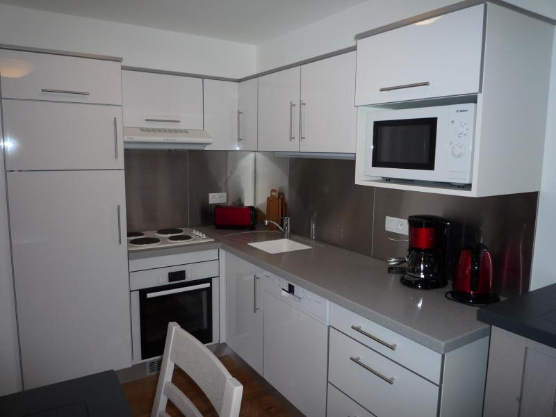 Alquiler al esquí Apartamento 3 piezas para 6 personas (001) - Chalet les Carons - Les Saisies - Kitchenette