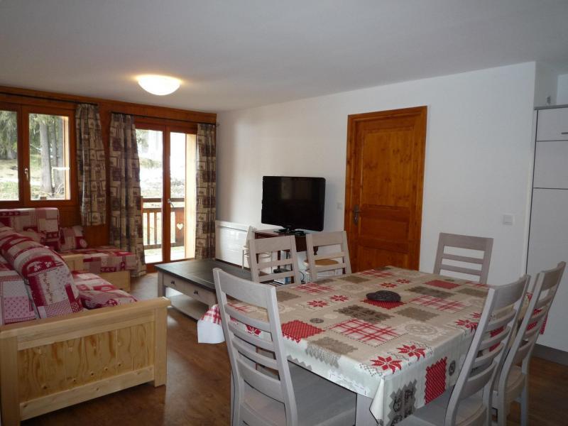 Alquiler al esquí Apartamento 3 piezas para 6 personas (001) - Chalet les Carons - Les Saisies - Mesa