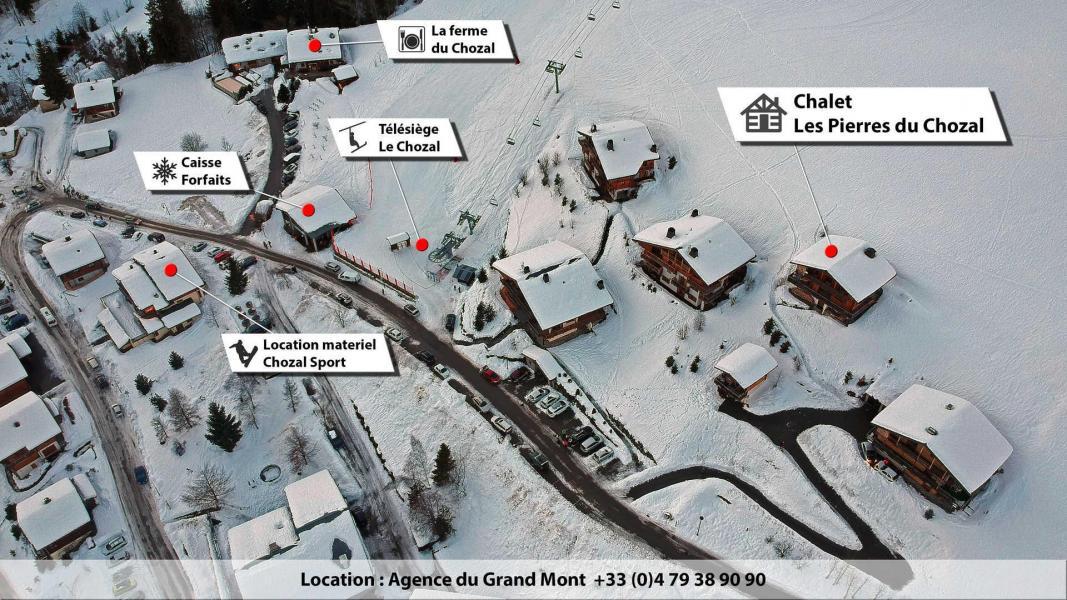 Location au ski Chalet Pierres du Chozal - Les Saisies