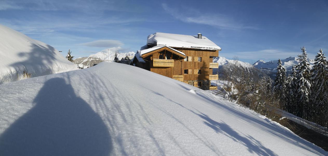Location au ski Le Hameau Du Beaufortain - Les Saisies - Extérieur hiver