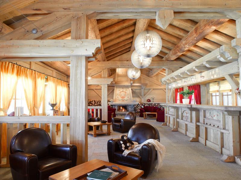 Location au ski Le Hameau Du Beaufortain - Les Saisies - Réception
